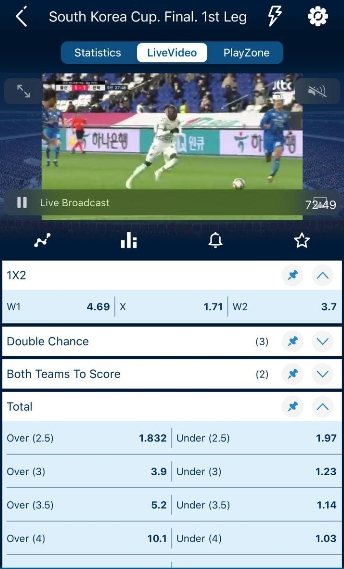 download 1xBet para iOS